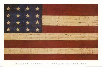 Warren Kimble Flag