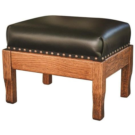 Upholstered Amish Foot Stool 590 Brl Liked On Polyvore
