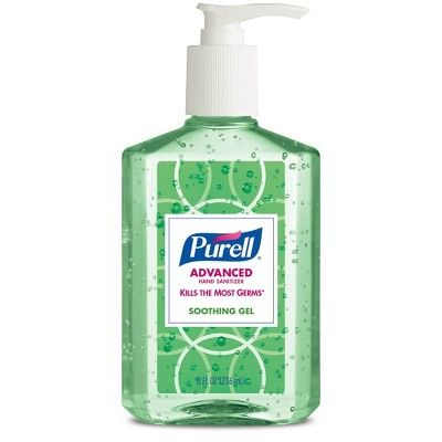 Purell Refreshing Aloe Hand Sanitizer 8oz 4ct Hand Sanitizer