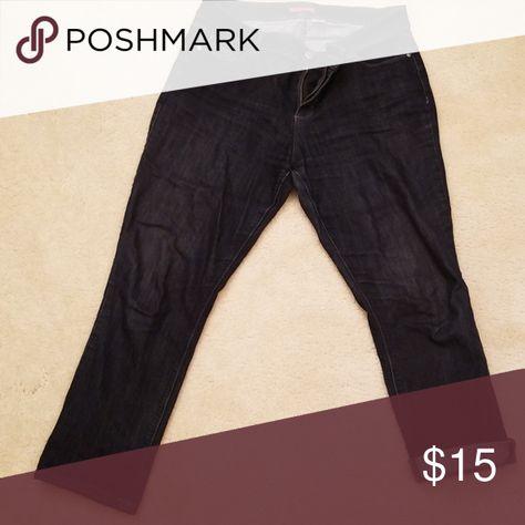f9306f512f Dark wash jeans