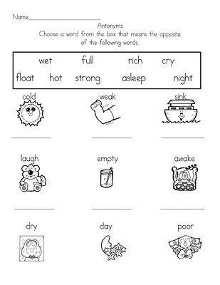 Antonyms Worksheet Kindergarten Antonyms Antonyms Worksheet Kindergarten Worksheets In 2021 Antonyms Worksheet Kindergarten Antonyms Kindergarten Worksheets Opposites worksheet kindergarten