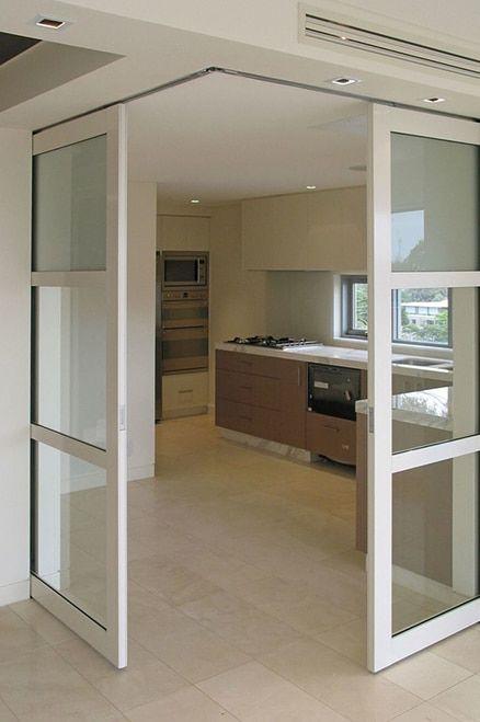 Ceiling Flush Pocket Door Hardware Kit Interior Barn Door