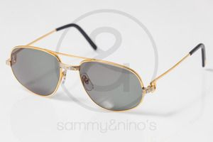 58894e6bbaee Image of Metzler 7670 gold    Vintage Sunglasses