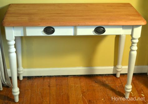 DIY Re-do Sewing Table
