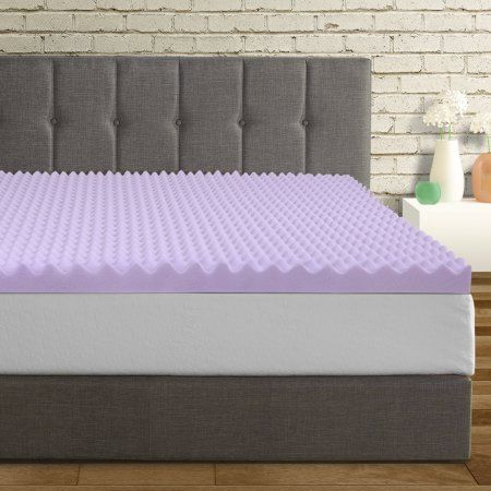 Best Price Mattress 3 Inch Egg Crate Memory Foam Mattress Topper