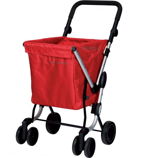 Use the We Go Foldable Shopping Cart to transport groceries laundry and other items in the city.