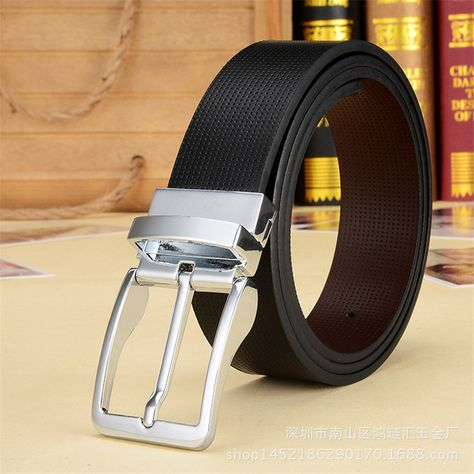 New Classic Men's Leather Belts | Leather belts men, Mens