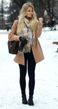 Winter Outfit Ideas For Classy Women womensfashion