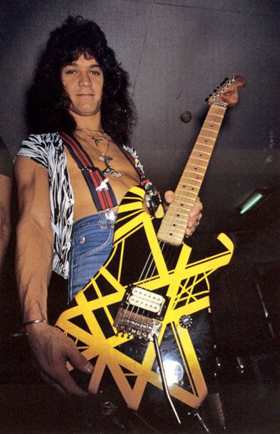 """Dimebag"" Darrell Was Buried In A Kiss Kasket With Eddie Van Halen's Bumblebee Guitar Eddie Van Halen, Alex Van Halen, Dimebag Darrell, Gary Cherone, Sammy Hagar, David Lee Roth, Roy Orbison, Ll Cool J, Marvin Gaye"