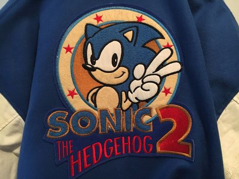 jacket Sonic The Hedgehog 2 Baseball...