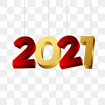 Text 2021 Hangs With A Metallic Red And Gold Color Combination Celebration 3d Colourful Png And Vector With Transparent Background For Free Download Gold Color Combination New Year Symbols Spring Flowers Background