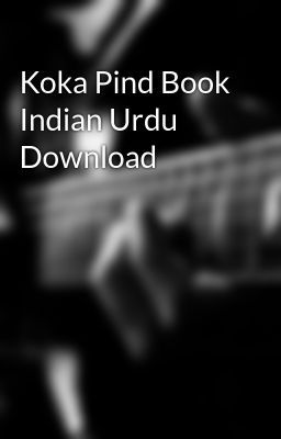 Koka pind book indian urdu download indian hindi