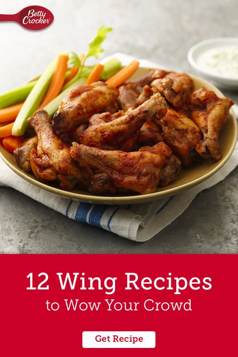 It's hard to narrow down all our favorite chicken wing recipes to just 12, but if you're looking to win the game day app contest look no further! Whether you prefer Creamy Parmesan-Garlic Chicken Wings, Grilled Spicy Thai Chicken Wings or even Smoky Cranberry Chicken Wings, with a little planning and these recipes, you can turn the everyday app into an extraordinary surprise.