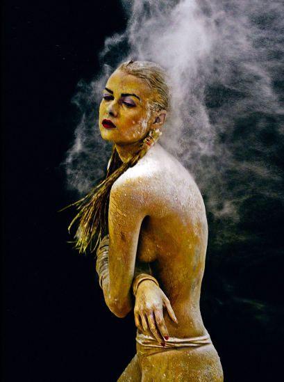 Nackt shooting topmodel Germany's Next