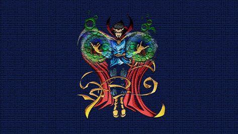 HD wallpaper: Doctor Strange, Marvel Comics, multi colored, creativity, no people