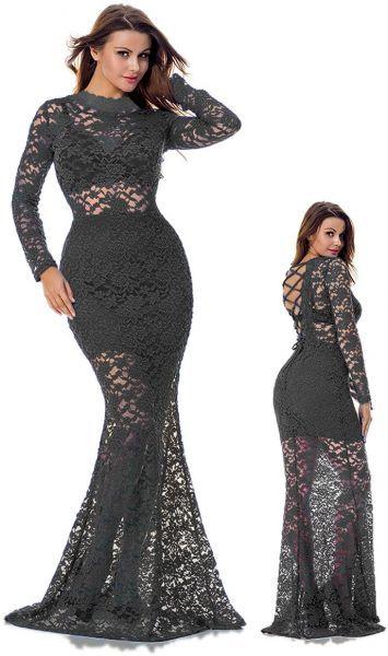 فستان مناسبة خاصة من اف جي بودي كون للنساء Curvy Dress Muslim Fashion Dress Fashion Dresses