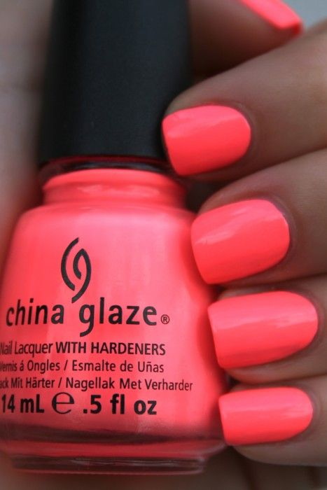 10 Best Neon Nail Polishes (And Reviews) - 2018 Update | China glaze ...