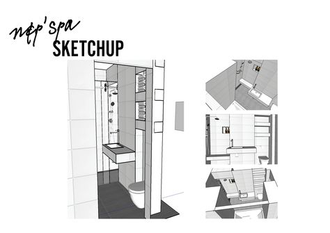 List of Pinterest sketchup layout drawing double shower