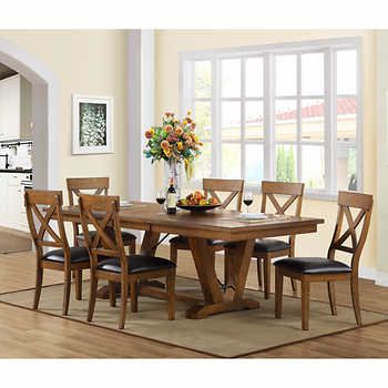 Bolton 7 Piece Dining Set Bayside Furnishings Fall Furniture Furniture Giveaway