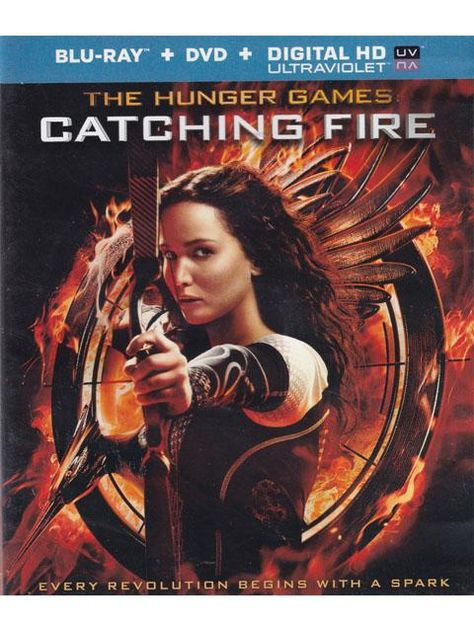 The Hunger Games Catching Fire Blue Ray Movie
