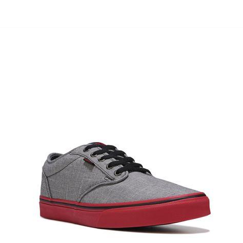 d44aae40383747 Vans Men s Atwood Sneakers (Light Grey Chili) - 11.0 M