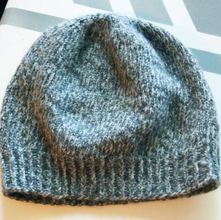 A Tweed Hat Circular Needles Stockinette And Cozy Winter
