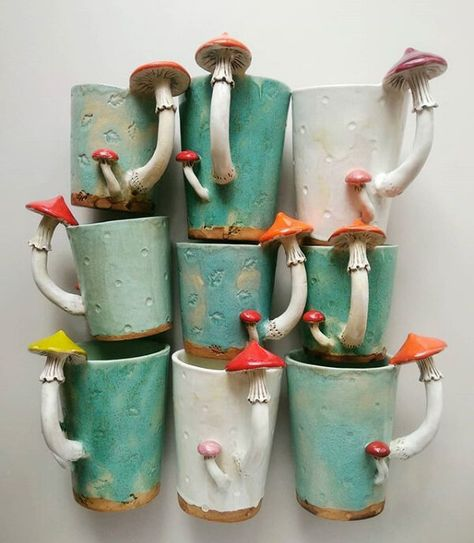 Starting to make new mugs for you! That week Im going to decide how to ship orders to USA, I have some good news, I will write about them… Ceramic Pottery, Pottery Art, Ceramic Art, Ceramics Pottery Mugs, Ceramic Tableware, Slab Pottery, Pottery Wheel, Pottery Studio, Ceramic Mugs