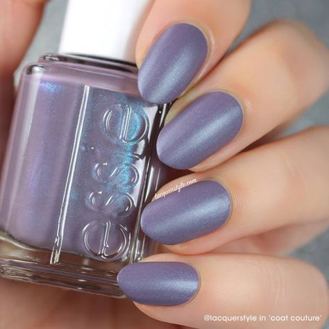 @Lacquerstyle shimmers in her cashmere 'coat couture' mani.