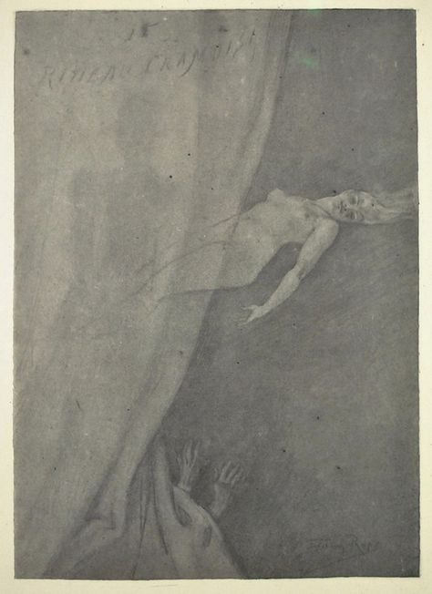 Slickwhippet Les Sources Du Nil Felicien Rops 1833 1898 Old Things The Magicians Art