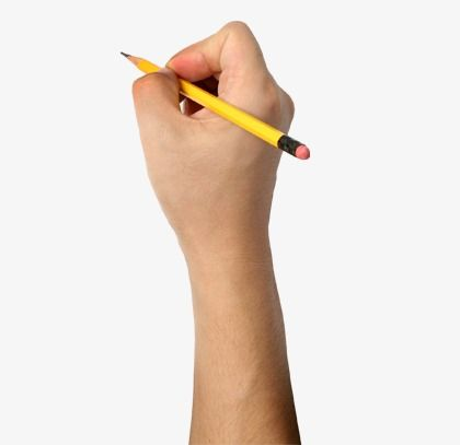 Holding A Pencil Hand Pencil Png Transparent Clipart Image And Psd File For Free Download Pencil Png Pencil Png