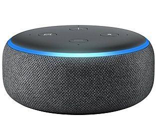 Amazon Echo Dot 3rd Generation Smart Speaker W Alexa Skills Qvc Com Echo Dot Amazon Echo Smart Speaker