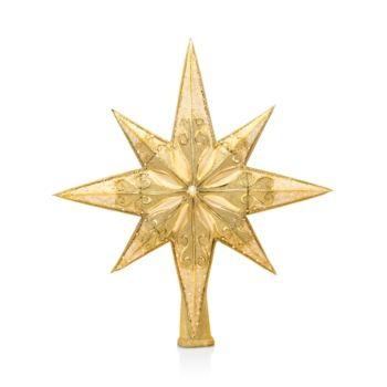 ADLER GOLDEN SPLENDOR CHAMPAGNE GOLD GLITTER SNOWFLAKE ORNAMENT STYLE B KURT S