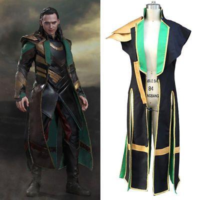 Popular The Loki Cosplay Costume Halloween Outfit Custom Made