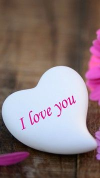 Dałem Ci kamień z napisem  love