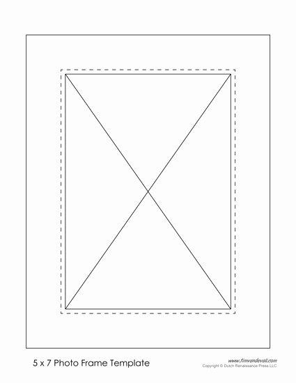 Printable Photo Frames Templates