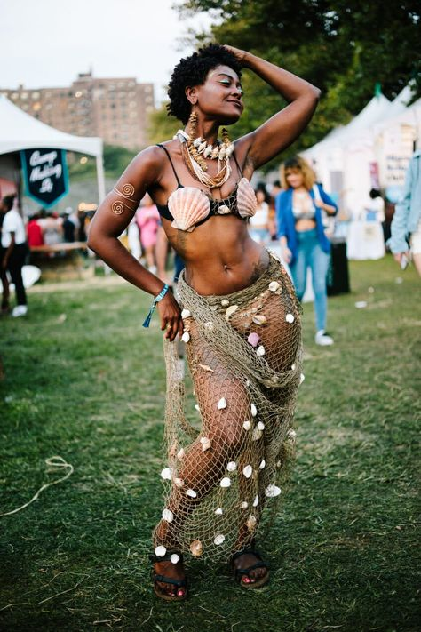 Some of the Incredible Looks From This Year's Afropunk Festival