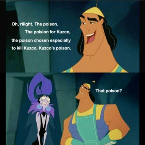 kuzcos poison essay