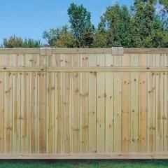 6 X 8 Dog Eared Cedar Fence Panel