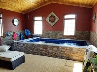Indoor Endless Pools Installation Endless Pool Indoor Pool Design Swimming Pool Pictures