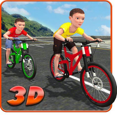 Kids Bicycle Rider Street Race V1 0 Mod Apk Money Kids Bicycle