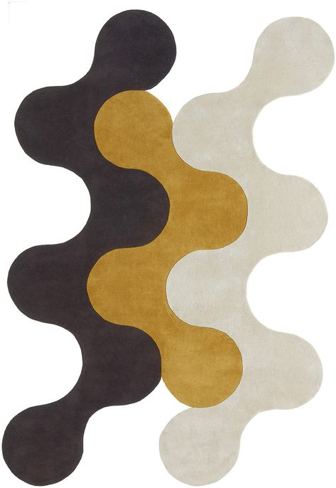 Flammes-Dfeu 4 Rug from the Shapes Irregular and Odd Rugs I collection at Modern Area Rugs