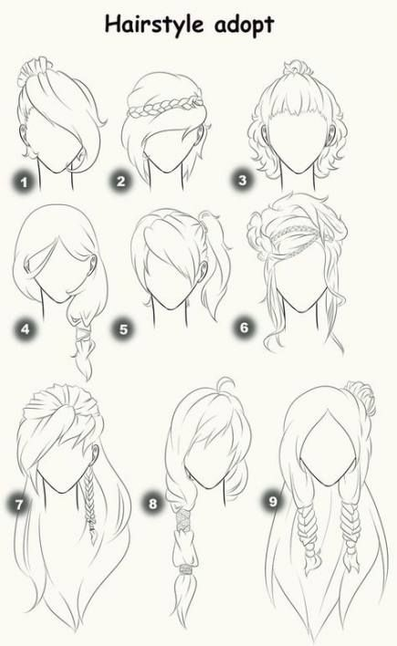 Hair Drawing Female Side 48 Ideas For 2019 Drawing Hair Tutorial How To Draw Hair Hair Sketch