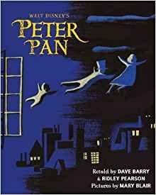 Amazon Fr Walt Disney S Peter Pan Mary Blair Dave Barry
