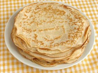 Cream Cheese Pancakes (or Crepes)  2 oz  Cream Cheese 2   Eggs ½ tsp  Cinnamon 1 pkt  Stevia  Warm the cream cheese so that it's mixable, combine all ingredients (I used a blender), and use like normal pancake batter.