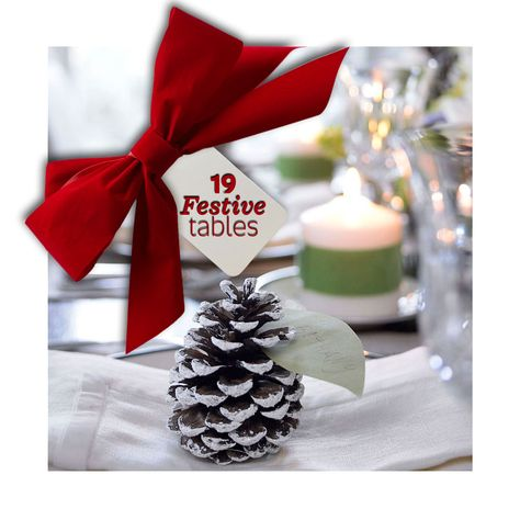 Set a festive table with these ideas: http://www.midwestliving.com/homes/seasonal-decorating/festive-holiday-tables/