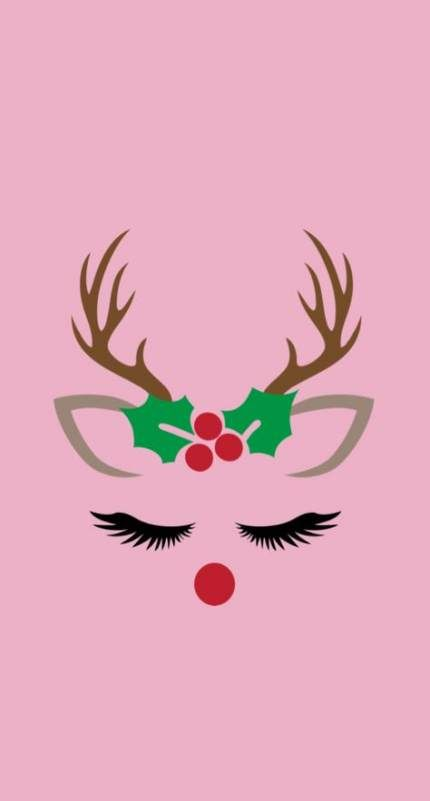 61 Ideas For Wall Paper Christmas Reindeer Christmas Phone Wallpaper Christmas Wallpaper Wallpaper Iphone Christmas