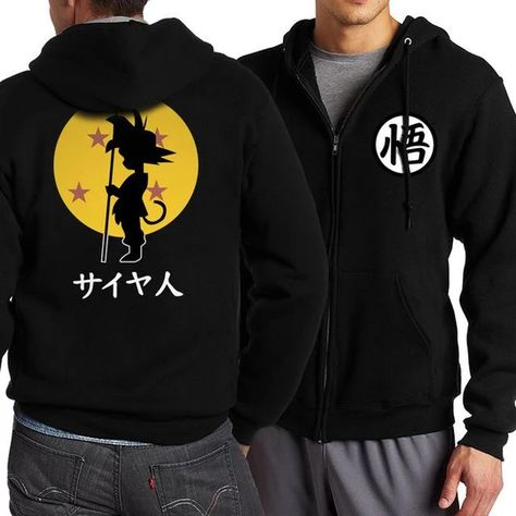 Spring Anime Zip Hoodie Zip up