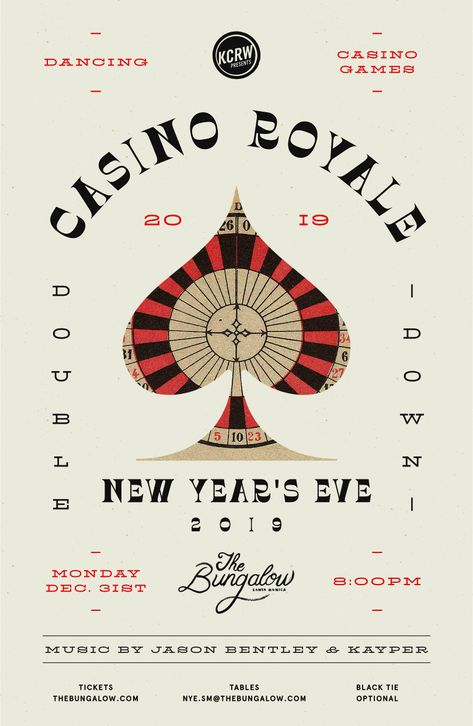 Casino Royale New Year's Eve 2019