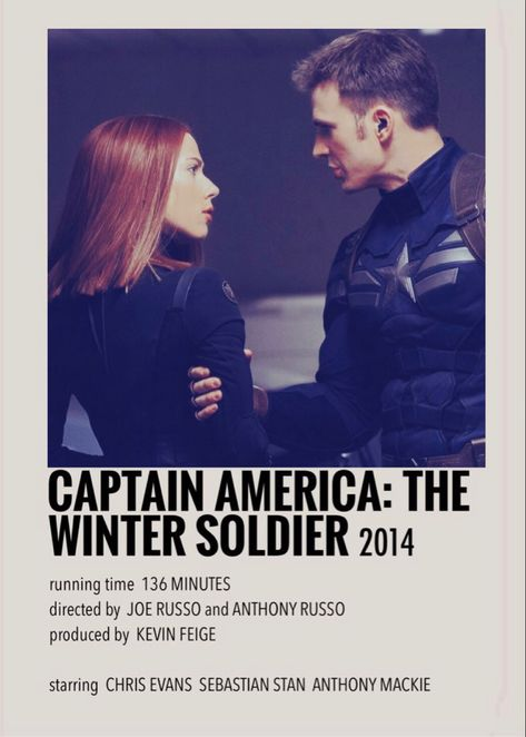 Captain America: The Winter Soldier polaroid poster