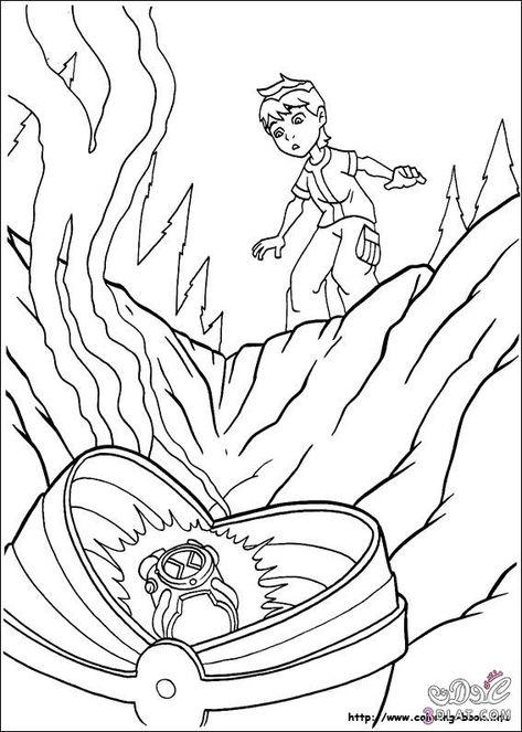 رسومات بن تن للتلوين صور Ben 10 للتلوين رسومات تلوين للاطفال Coloring Pages For Boys Coloring Pages For Kids Ben 10